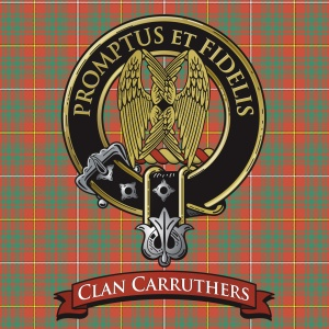 Carruthers tartan-silver crest-v3